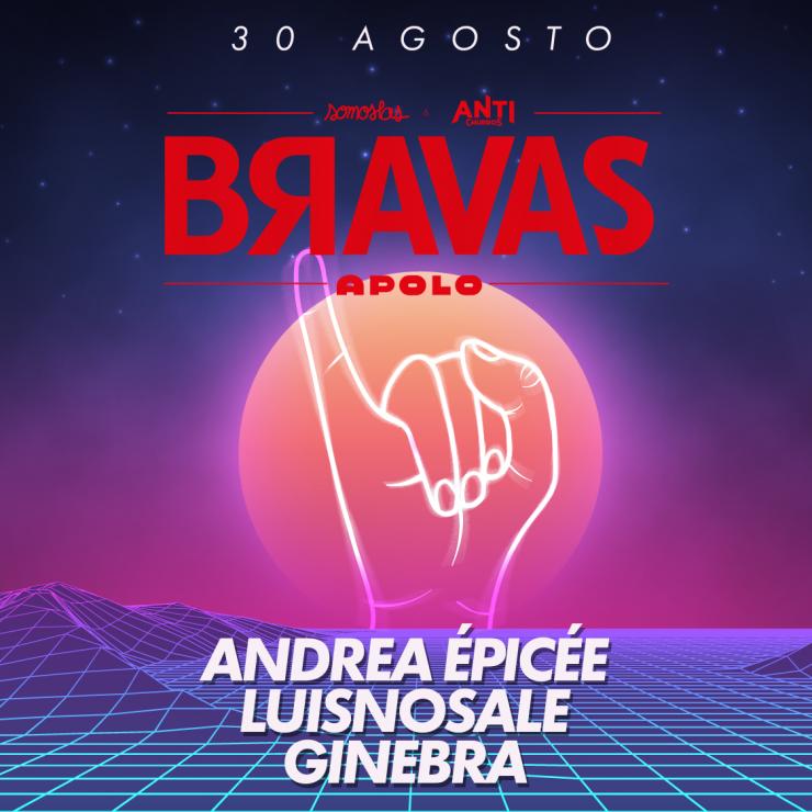 BRAVAS 30 Agosto