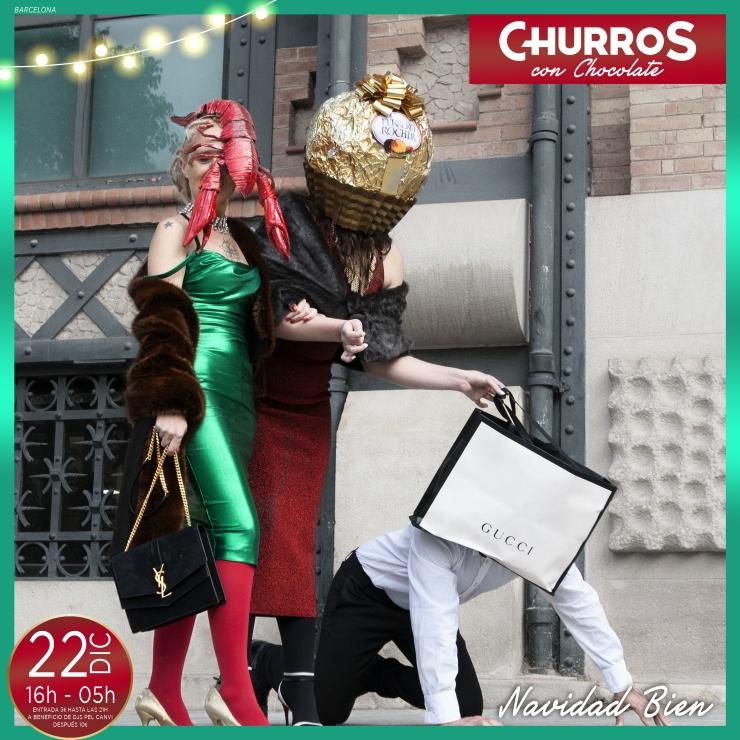 Churros con Chocolate BCN – 22 DIC